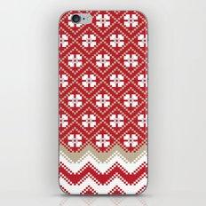 Glove in Red iPhone & iPod Skin