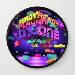 Ready Player One Wall Clock