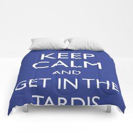Get in the TARDIS Comforters