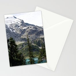 Joffree in Canadas Mountains Stationery Cards