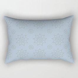 3D Pattern Stone - Pointilism Pattern Rectangular Pillow