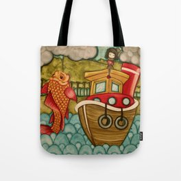 Wrong Catch Tote Bag