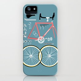Bike Bits iPhone Case