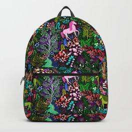 Magical Rainbow Unicorn Forest Backpack