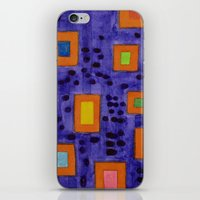 frames iPhone & iPod Skins featuring Illuminated Frames by Heidi Capitaine