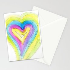 Spring Heart Stationery Cards