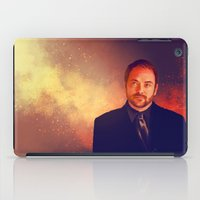 crowley iPad Cases featuring Crowley - Supernatural by KanaHyde