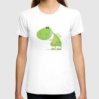 dinosaur T-shirts featuring dinosaur by Daniel Castrogiovanni