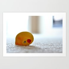 dog toy Art Print