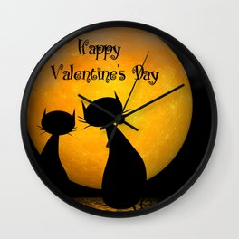 Valentine's Day -1- Wall Clock