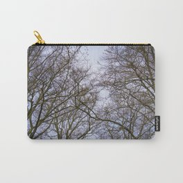 Looking up at Trees just Starting to Put out their Spring Buds in a Garden in Amsterdam, Netherlands Carry-All Pouch