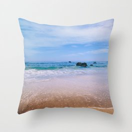 Fort Bragg Color Throw Pillow