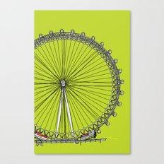 London Town - The Eye Canvas Print