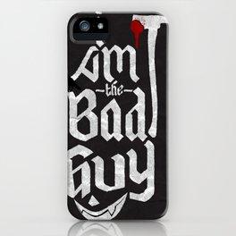 I, Villain iPhone Case
