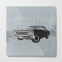 Supernatural: Impala (#2) Metal Print