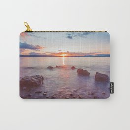 Sunset Lake Long Exposure (Color) Carry-All Pouch