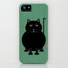Kitty Kat iPhone Case