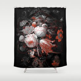 sacred flowers Shower Curtain