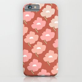 Calm flower iPhone Case
