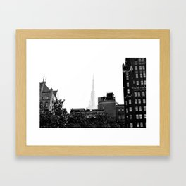 Spire of the Empire NYC Framed Art Print