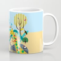 evolution Mugs featuring Evolution by Design4u Studio
