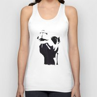 camel Tank Tops featuring camel by Mono Ahn