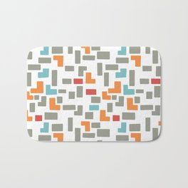 Bricks - light Bath Mat