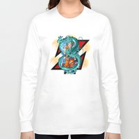 dbz Long Sleeve T-shirts featuring DBZ - A Hero by Mr. Stonebanks