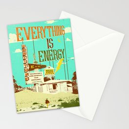 EVERYTHING IS ENERGY Stationery Cards