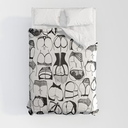 Lingerie Butts Comforters