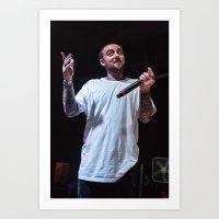 Mac Miller, Baltimore, 2015 Art Print