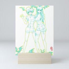 Morrigan and Lilith 03 Mini Art Print