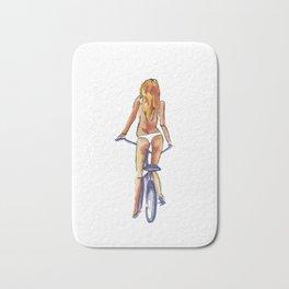 Babes and Bikes Bath Mat
