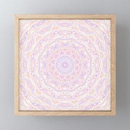 Funky mandala Framed Mini Art Print