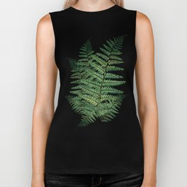 Among the Fern in the Forest Biker Tank