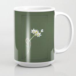 False Garlic Wildflower Coffee Mug