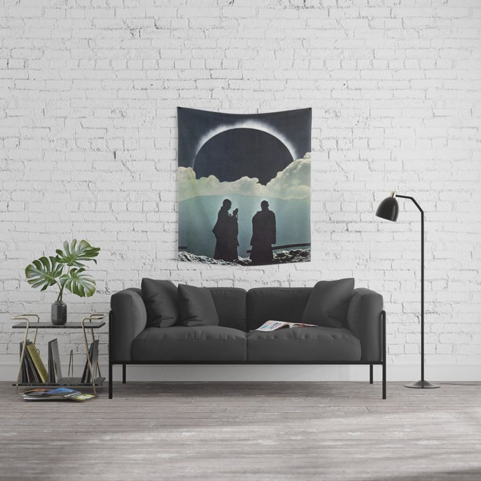 Total Eclipse Wall Tapestry