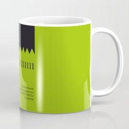 FRANKENSTEIN - FontLove - HALLOWEEN EDITION Coffee Mug