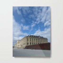 Vienna Schonbrunn Colors Metal Print
