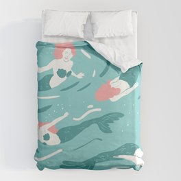 Mermaids Duvet Cover