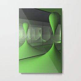 mirrors and globs -3- Metal Print