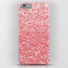 pink sparkle iPhone 6s Plus Slim Case
