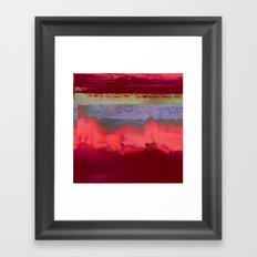 14-42-41 (City Glitch) Framed Art Print