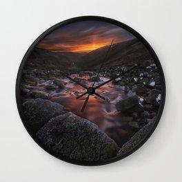 Lough Tay Wall Clock