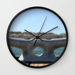 Dock Cleats Wall Clock