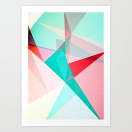 FRACTION - Abstract Graphic Iphone Case Art Print