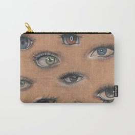 A Collage of Eyes Carry-All Pouch