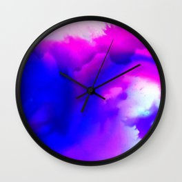 Abstract Bliss 1 by kathy Morton Stanion Wall Clock