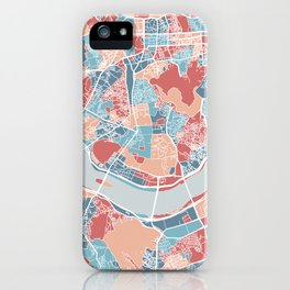 Seoul map iPhone Case