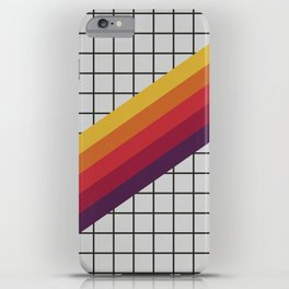 Old Video Cassette Palette III iPhone Case